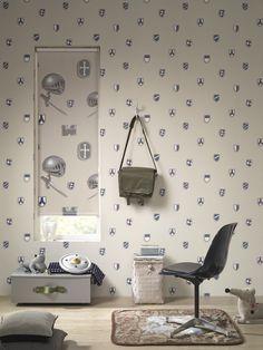 Kinderkamer behang deco home on pinterest vans met and van life for Deco voor slaapkamer meiden