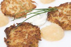 Polish Potato Pancakes Recipe from Gwizdaly Village - Placki Ziemniaczane