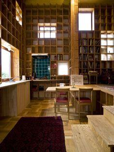 Shelf-Pod by Kazuya Morita Architecture Studio | Osaka, Japan