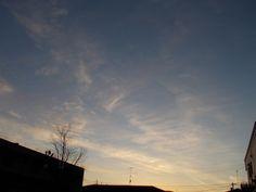 昨日の朝 薄雲