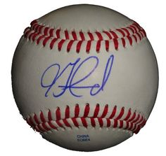 Jon Garland Autographed ROLB Baseball, Los Angeles Dodgers, Chicago White Sox, Proof Photo by Southwestconnection-Memorabilia. $49.99. This is a Jon Garland autographed Rawlings official league baseball. Jon signed the ball in blue ballpoint pen. Check out the photo of Jon signing for us. Proof photo is included for free with purchase. Please click on images to enlarge. 2