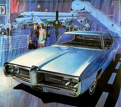 1968 Pontiac Lemans ad. Art Fitzpatrick