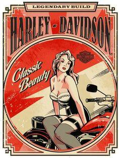 Harley-Davidson catalog design by Jeremy Packer
