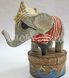 Elephant pirate