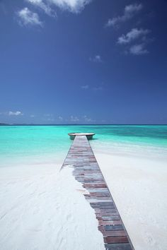 ✮ Jetty Leading to the Ocean - Maldives