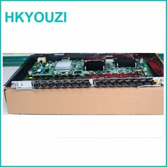 In stock! GTGH Board , 16 Ports GPON line card with 16pcs GPON-OLT-Class B+ SFP, GTGH use for  C300 C320 OLT