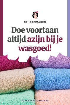 Kleding wassen met azijn is het verstandigste wat je kunt doen. Azijn houdt kleding mooier, verwijdert vlekken en nog veel meer!