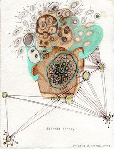 Organic Patterns, Artist Study, Resources for Art Students , with thanks to Artist Michelle Moode CAPI ::: Create Art Portfolio Ideas at milliande.com , Art School Portfolio Works