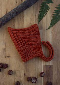 kostenlose Anleitung zum Stricken einer Zwergenmütze - Alma & Elise Baby Knitting Patterns, Crochet Stitches Patterns, Arm Knitting, Dwarf Hat, Poncho, Hat Making, Wool Yarn, Merino Wool, Yarn Crafts