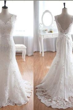 Newest Real Made Wedding Dresses,Lace Wedding Dresses, Backless Wedding Dress,Wedding Dresses, Dresses For Wedding