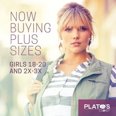 #PlatosClosetBarrie is always looking to buy more sizes in girls clothing! Bring them in today for CASH! #ShoppingMoney | www.platosclosetbarrie.com