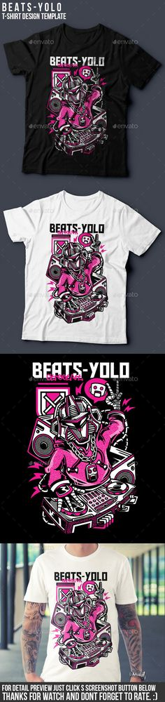 BeatsYolo TShirt Design — Vector EPS #custom #freelance • Available here → https://graphicriver.net/item/beatsyolo-tshirt-design/18074961?ref=pxcr