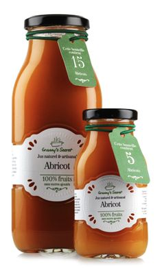 Jus d'abricot Granny's Secret. Maisie Williams, Ketchup, Hot Sauce Bottles, Wedding Favors, Food, Nature, Apple, Gift Ideas, Greedy People