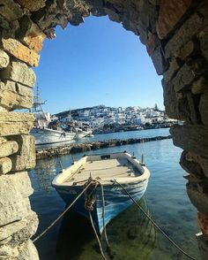 Porto Naoussa, Paros,Greece