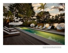 modern pool deck - Google Search