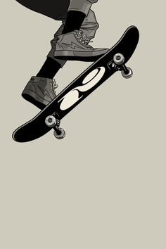 Vuela 1, an art print by Gianmarco Magnani - INPRNT Skateboard Design, Skateboard Art, Aesthetic Art, Aesthetic Anime, Skate Photos, Skate Art, Burton Snowboards, Cool Art Drawings, Anime Scenery