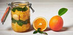 Faire un bon repas avec notre salade d'oranges cuites à la marocaine