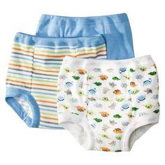 Reusable Underwear Trainer Pants Bright Bots 4 Pack Washable Potty Training Pants