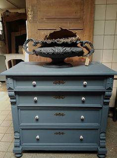 Abbondanza Antique Blue (426) #krijtverf #chalkpaint #kreidefarbe