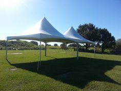 20 x 40 Frame Tent at Tenoroc