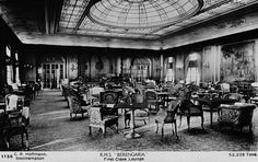 R.M.S. Berengaria First Class Lounge