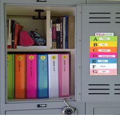 1000 Ideas About School Locker Organization On Pinterest