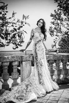 #weddingdress #bridalcollection #AlessandroAngelozziCouture #weddingdress2016 #anitalianlovecollection #RocioMuñozMorales