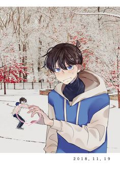Dc Anime, Manga Anime, Anime Art, Ran And Shinichi, Kudo Shinichi, Detective Conan Shinichi, Conan Comics, Kaito Kid, Magic Kaito