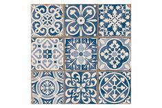Buy Tangier Blue Decor Tile from Tons of Tiles with Next Day UK Delivery, Samples Available from only inc P&P. Decor, Flooring, Black Interior Doors, Blue Decor, Painting Tile, Tile Patterns, Tiles Uk, Kitchen Wall Tiles, Moroccan Tiles