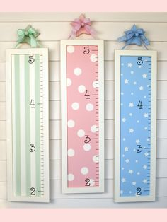 Needing a growth chart!