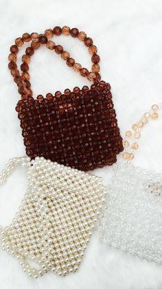 Handmade Wire Jewelry, Handmade Purses, Beaded Jewelry, Beaded Purses, Beaded Bags, Beaded Top, Diy Handbag, Diy Purse, Fashion Bags