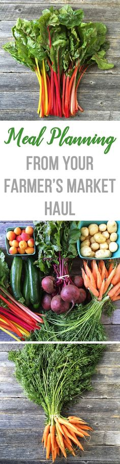Loads of recipe ideas for cooking from your farmers' market haul!