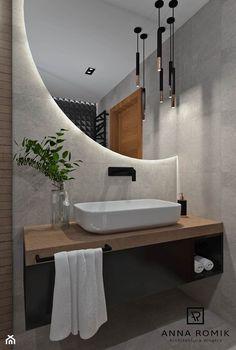 Contemporary Bathroom Mirrors, Bathroom Mirror Design, Washroom Design, Toilet Design, Bathroom Design Luxury, Bathroom Layout, Modern Bathroom Design, Home Interior Design, Bathroom Ideas