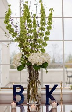 Entertaining Delights Blog Post about Navy and Lime Green Preppy wedding decor
