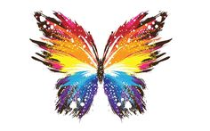 Abstract Butterfly Vector - http://www.highdefwallpaper.com/3d-abstract/abstract-butterfly-vector/