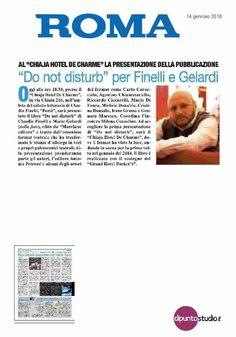"""Sul quotidiano Il Roma si parla di """"Do Not Disturb"""""""
