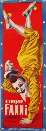 Cirque Fanni vintage poster