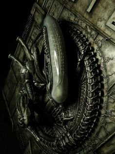 Alien..cool, but gross