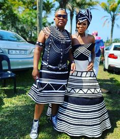 AWESOME TRADITIONAL XHOSA are capturing attention every day with the most fabulous enviable style one could ever think of African Wear Dresses, Latest African Fashion Dresses, African Print Fashion, Africa Fashion, African Prints, Ankara Fashion, African Fabric, Latest Fashion, Style Fashion