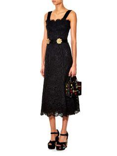 Dolce & Gabbana Rosary embellished box bag