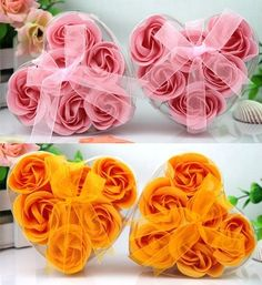 Cheap gift, Buy Quality gift tags wedding favors directly from China favor gift box Suppliers:  Cheap 6pcs/set, Rose Flower Petal Soap Bath Petals Soaps Heart Good Smell 20sets/lot,Wedding Favors and Gifts, Fre