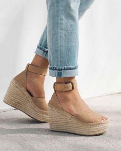 New Arrivals – Soludos Espadrille Sandals, Espadrilles, Comfortable Wedges, Simple Shoes, Summer Shoes, Summer Sandals, Custom Shoes, Me Too Shoes, Fashion Shoes