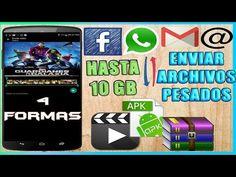 Cómo enviar videos ó archivos de 1 GB o más por whatsapp, facebook o correo   sin apps 4 métodos - YouTube