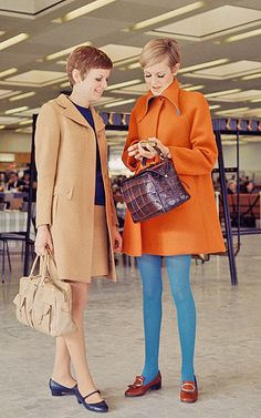 Twiggy. Those tights!
