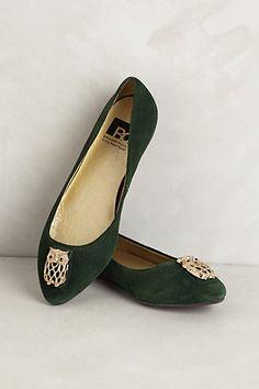 Want these jewel-tone flats #shoes #fashion