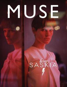 cool Muse Magazine # 33 | Capa Primavera 2013 | Saskia de Brauw por Vincent van de Wijngaard