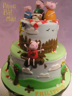Peppa Pigs Cake