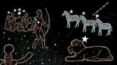 Fierce Lion, Orion's Belt, The Pleiades, Xhosa, Morning Sky, Star Show, Light Of Life, Zebras, Milky Way