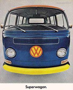 "Volkswagen. ""Superfurgoneta"". Agencia DDB, Alemania."