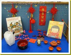 Chinese New Year provocation. This would be great with my Chinese new year unit. Chinese New Year Activities, New Years Activities, Classroom Activities, Chinese New Year 2016, Kindergarten Social Studies, Chinese Lessons, Dramatic Play Centers, New Year's Crafts, Learn Chinese